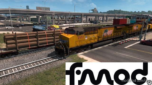 Improved Trains V3.5.3 V1.39.0.48S Beta for American Truck Simulator