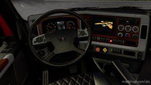 Dark Interior For Western Star 49X for American Truck Simulator