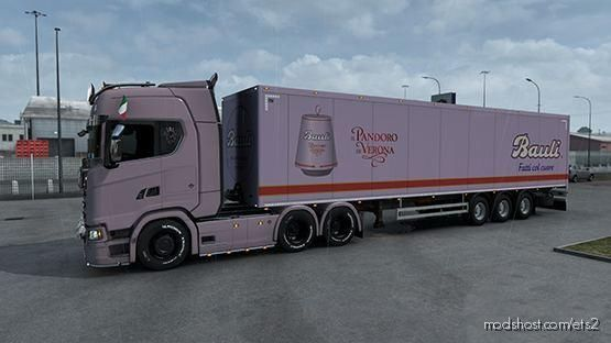 Trailer Bauli Italy [1.38] for Euro Truck Simulator 2
