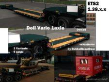 Doll Vario 1Axle V1.2 [1.38] for Euro Truck Simulator 2
