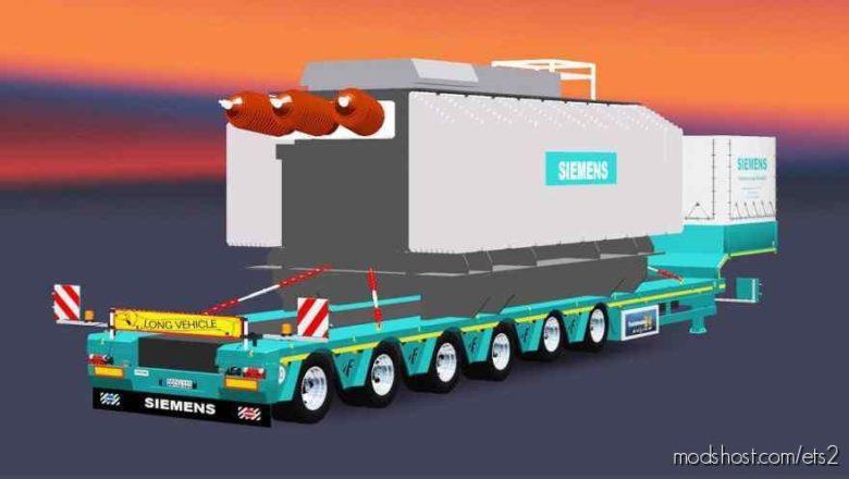 Schwerlast-Trafo Trailer [1.38] for Euro Truck Simulator 2