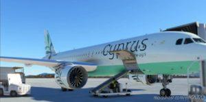 A320 NEO Cyprus Airways 4K for Microsoft Flight Simulator 2020