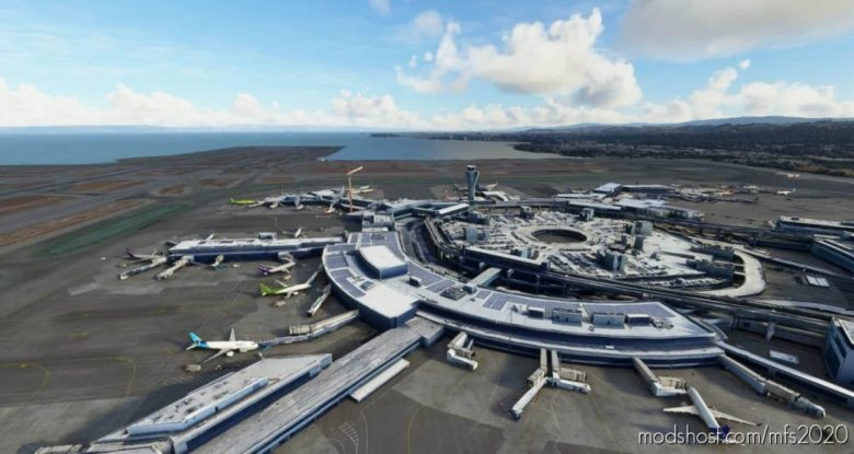 SAN Francisco Intl – [Ksfo] for Microsoft Flight Simulator 2020