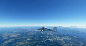 Diamond DA62 White-Blue for Microsoft Flight Simulator 2020