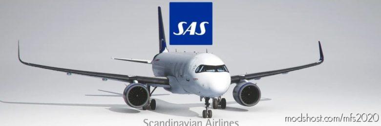 SAS / Scandinavian Airlines – NEW Style for Microsoft Flight Simulator 2020