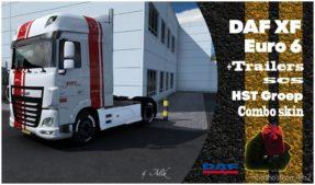 Combo Skins HST Groep for Euro Truck Simulator 2