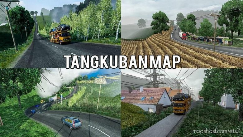 Most Crazy Roads [Tangkuban MAP] [1.38] for Euro Truck Simulator 2