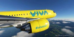 Viva AIR Colombia – NEW 'Boomerang' Livery – 8K V1.0.1 for Microsoft Flight Simulator 2020