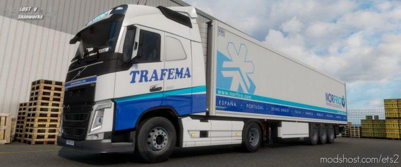 Trafema Transportes Volvo FH Combo Pack for Euro Truck Simulator 2