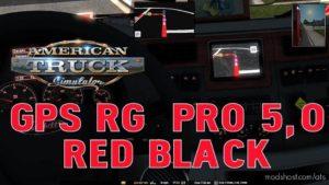 GPS RG PRO RED Black V5.0 for American Truck Simulator