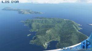 Iles D'OR Porquerolles Port-Cros Iles DU Levant for Microsoft Flight Simulator 2020