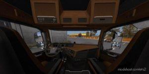 Brown Black Interior For Volvo for Euro Truck Simulator 2