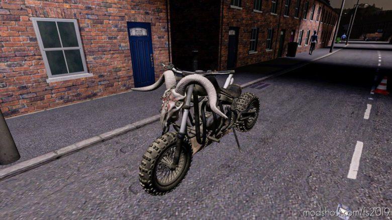 Fury Road Motorcycle for Farming Simulator 19