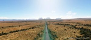 Monument Valley, Arizona-Utah Border (Work In Progress) for Microsoft Flight Simulator 2020