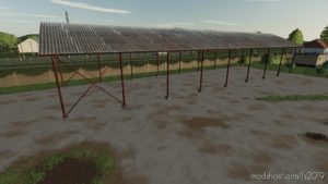 Hungarian Shed (Prefab) for Farming Simulator 19