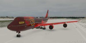 Boeing 747 Livery – Soviet Union (Cccp) (Ussr) for Microsoft Flight Simulator 2020