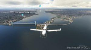 Klga Laguardia Airport + NYC Bridge Improvement for Microsoft Flight Simulator 2020