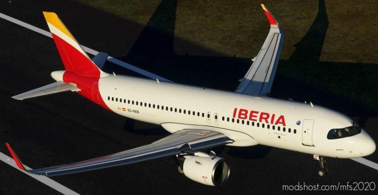 Iberia A320 NEO Ec-Ner 8K V1.1 for Microsoft Flight Simulator 2020