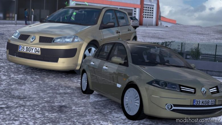 Renault Megane 2 V1.5 [1.38] for Euro Truck Simulator 2