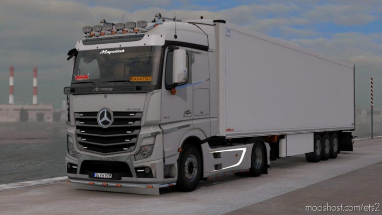 Mercedes Actros MP4 VIP Custom [1.38] for Euro Truck Simulator 2