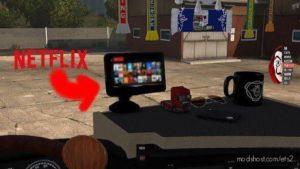 Video Player Netflix [1.38] for Euro Truck Simulator 2