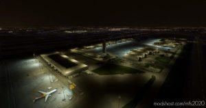 Chicago O'Hare – South East Cargo Ramp – Lighting Improvement V0.2 for Microsoft Flight Simulator 2020