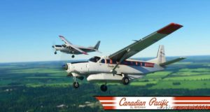 Canadian Pacific Cessna 208B Grand Caravan EX Livery for Microsoft Flight Simulator 2020