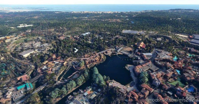 Port Aventura World V1.2 for Microsoft Flight Simulator 2020