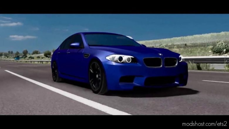 BMW M5 F10 NEW FIX [1.38.X] for Euro Truck Simulator 2