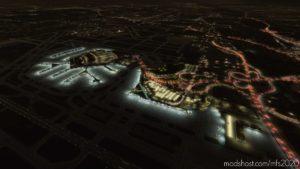 Chicago O'Hare – Main Terminals – Lighting Improvement for Microsoft Flight Simulator 2020