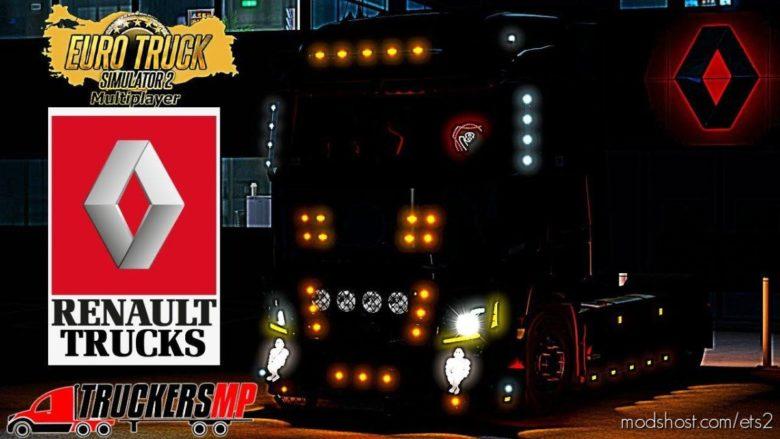 Renault T V8 Custom Tuning For Multiplayer [Truckersmp] for Euro Truck Simulator 2
