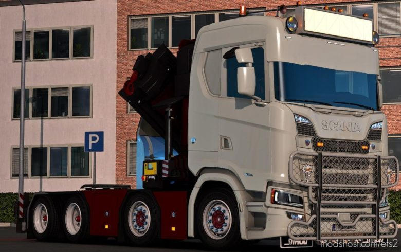 Scania NG Cranechassi for Euro Truck Simulator 2