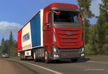 Hyundai Trago Xcient [1.38] for Euro Truck Simulator 2