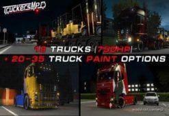 18 Trucks For Multiplayer [1.38] for Euro Truck Simulator 2