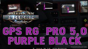 GPS RG PRO Purple Black V5.0 for American Truck Simulator