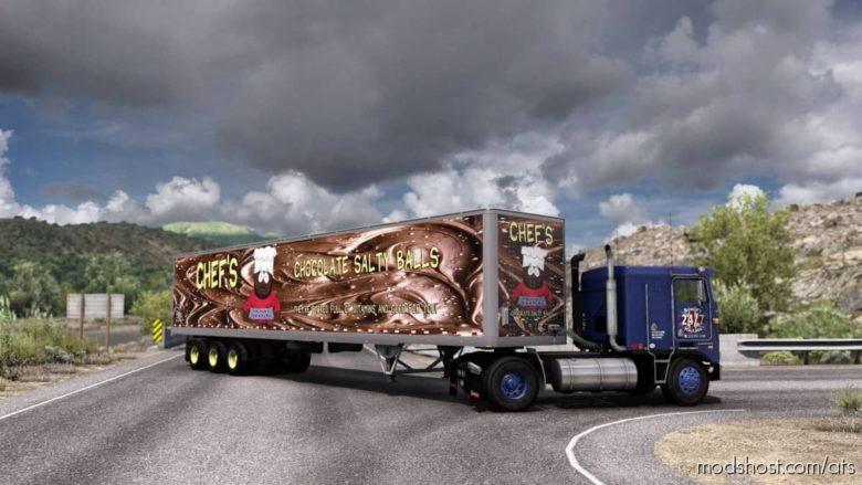 Salty Balls Skin Standard Trailers for American Truck Simulator