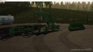 Fendt 5X90 Frontlader for Farming Simulator 19