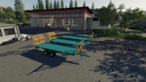 Rolland Bale Trailer for Farming Simulator 19