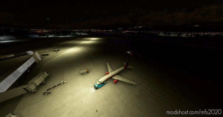 Bilbao-Lebb Airport Lights for Microsoft Flight Simulator 2020