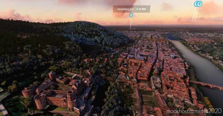 "OLD Town ""Altstadt"" Heidelberg for Microsoft Flight Simulator 2020"