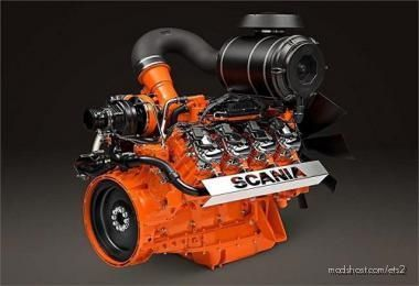 Scania V8 Crackle V12.0 for Euro Truck Simulator 2