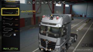 Mercedes MP4 Roof Slot By Matt_07Ita [1.38.X] for Euro Truck Simulator 2
