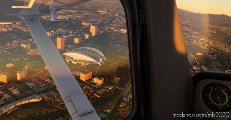 Estadio Nacional DE Costa Rica for Microsoft Flight Simulator 2020