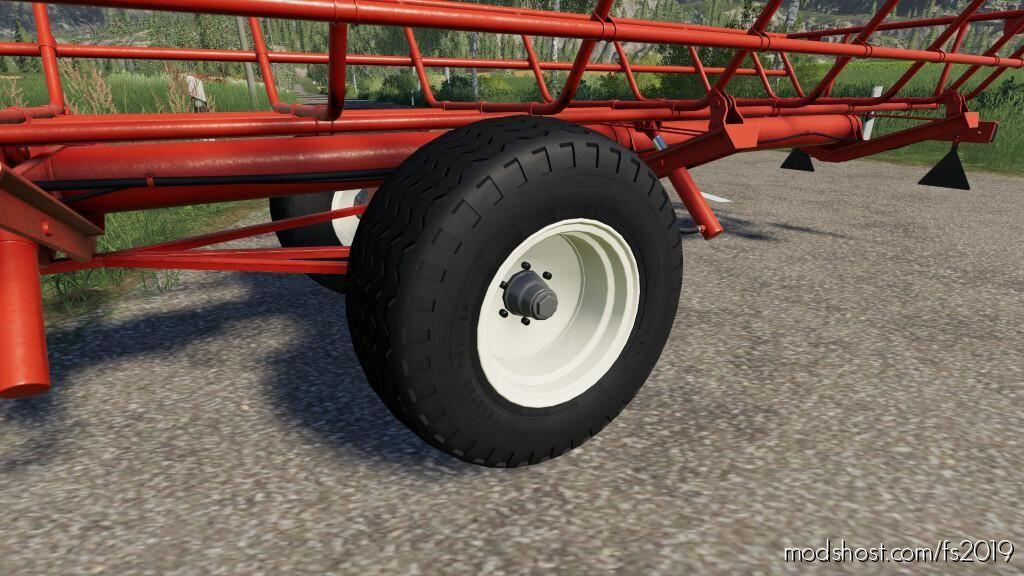 Nokia Tractor Trailer Balloon Tires (Prefab) for Farming Simulator 19
