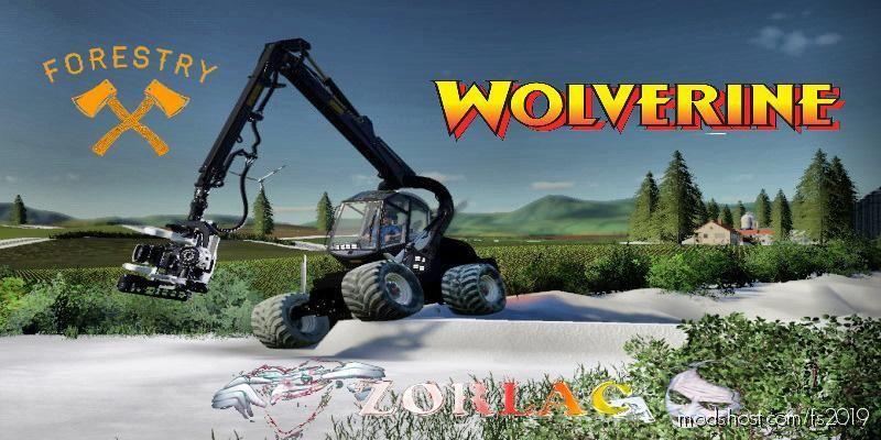 Ponsse Wolverine for Farming Simulator 19