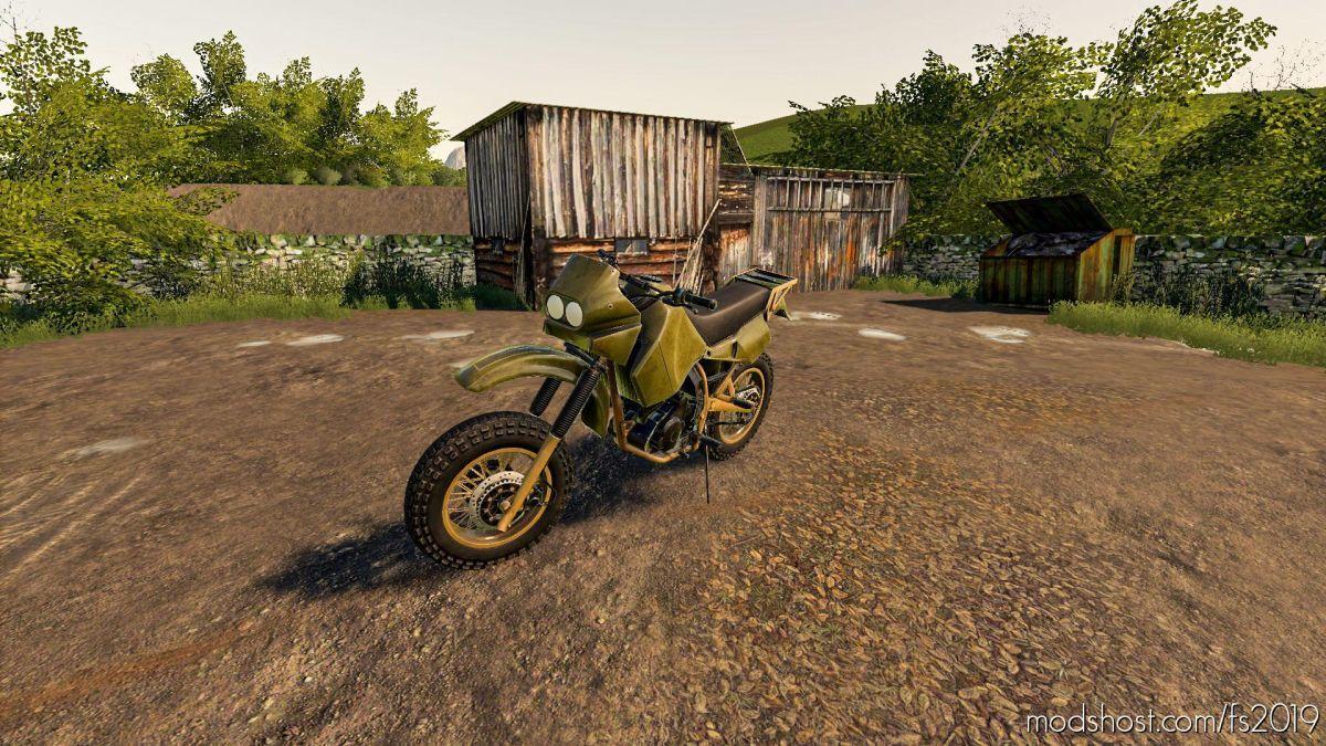 Battlefield Motocross Dirt Bike for Farming Simulator 19