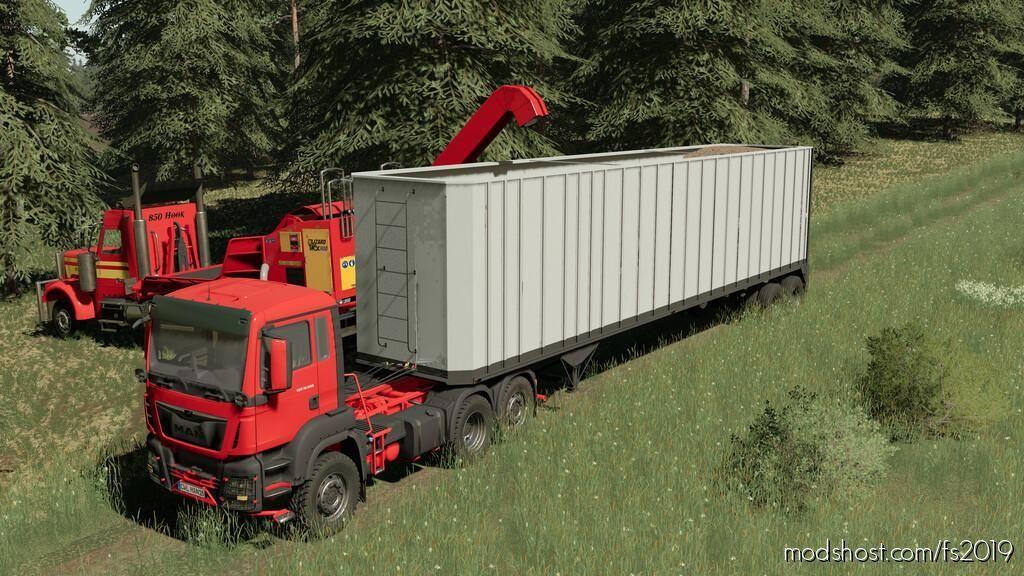 Woodchip Trailer for Farming Simulator 19