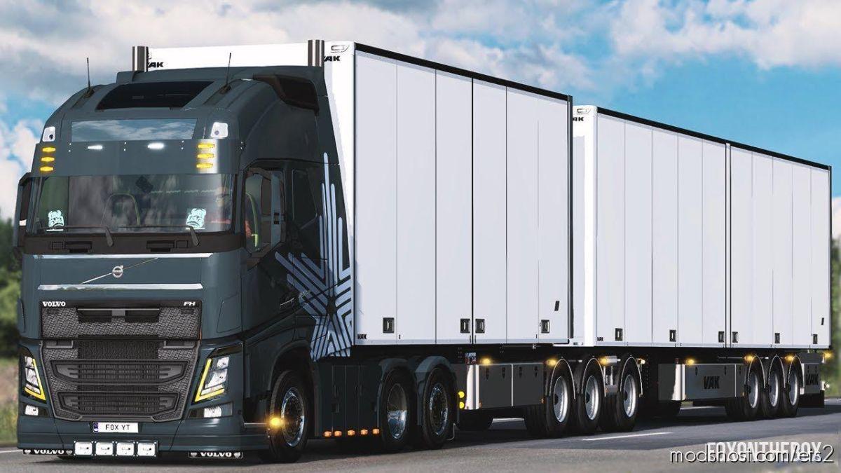 Volvo FH16 2012 By Pendragon [1.38] V25 for Euro Truck Simulator 2