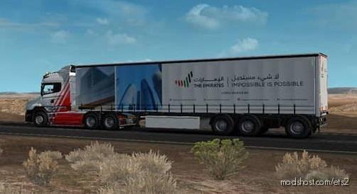 The Emirates Trailer Pack V2.0 [1.38.X] for Euro Truck Simulator 2