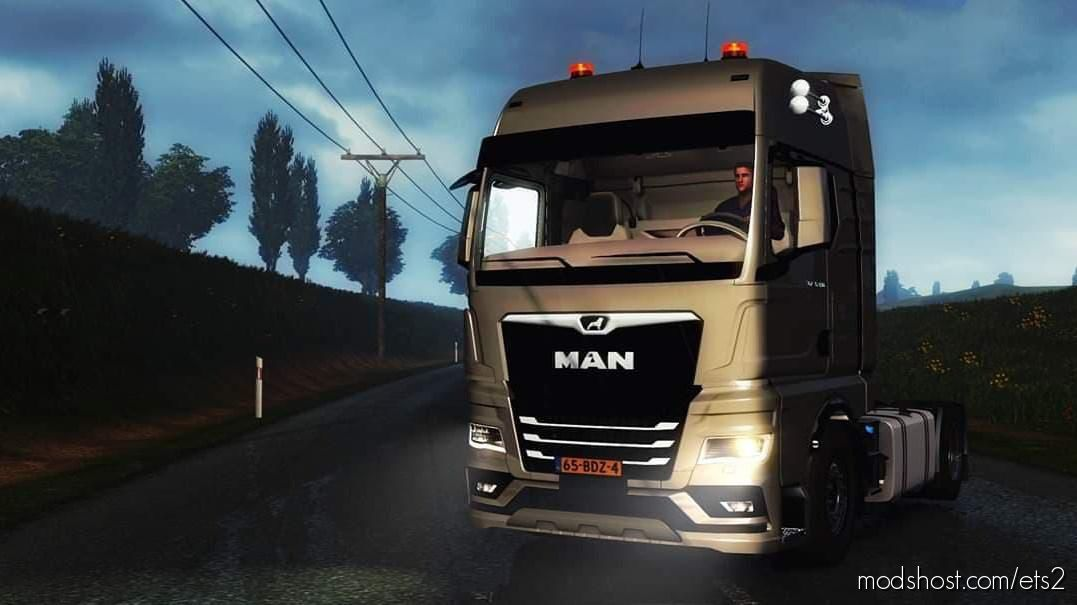 MAN TGX 2020 [1.39] for Euro Truck Simulator 2